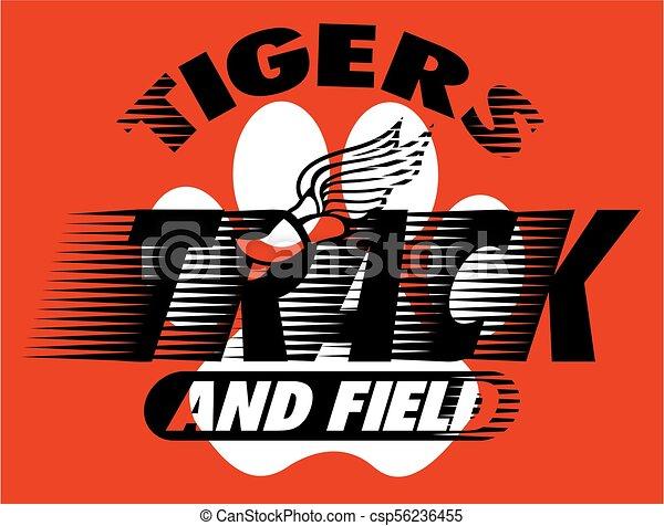 Los tigres siguen y siguen - csp56236455