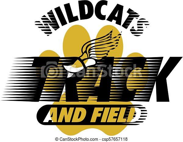 Wildcats atletismo - csp57657118