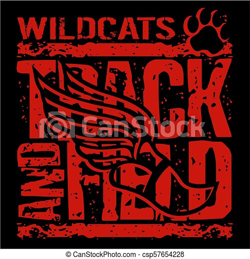 Wildcats atletismo - csp57654228