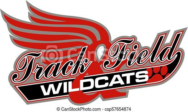 Los Wildcats siguen el campo - csp57654874