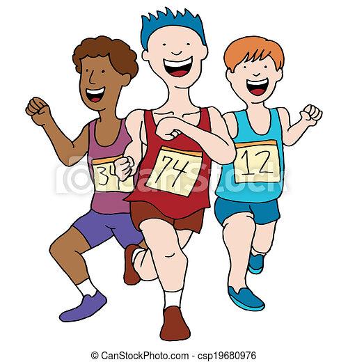 Equipo de atletismo - csp19680976
