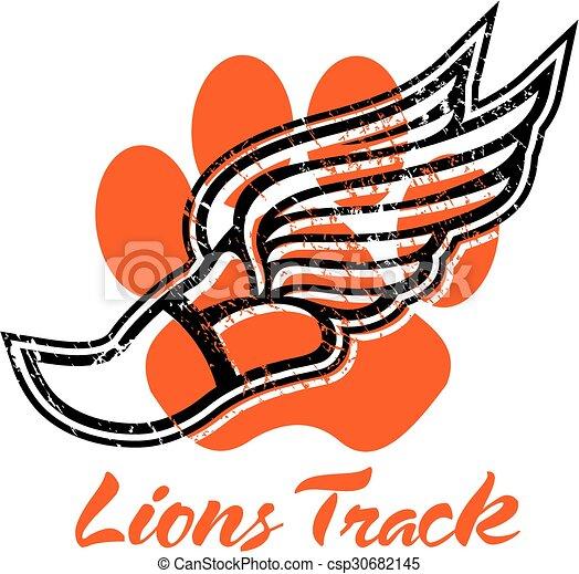 La pista de los leones - csp30682145