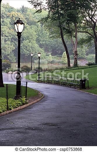 pista, parque - csp0753868