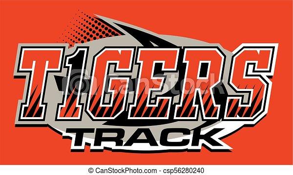 Los tigres rastrean - csp56280240