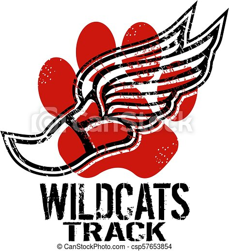 Los Wildcats rastrean - csp57653854