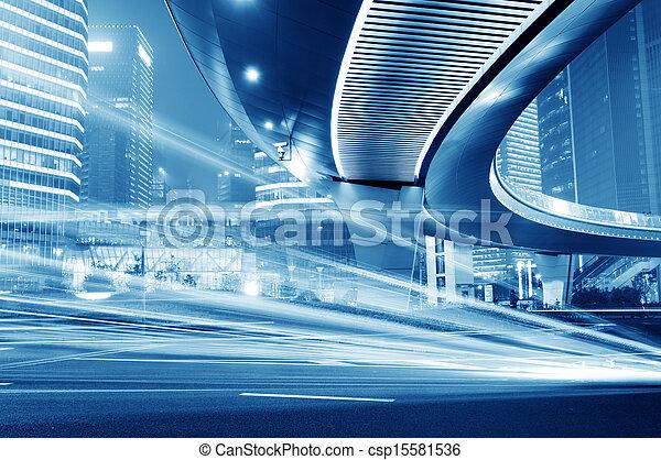 pistes, lumière - csp15581536