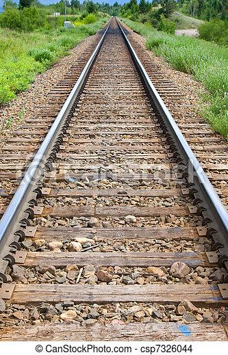 pistes, train - csp7326044