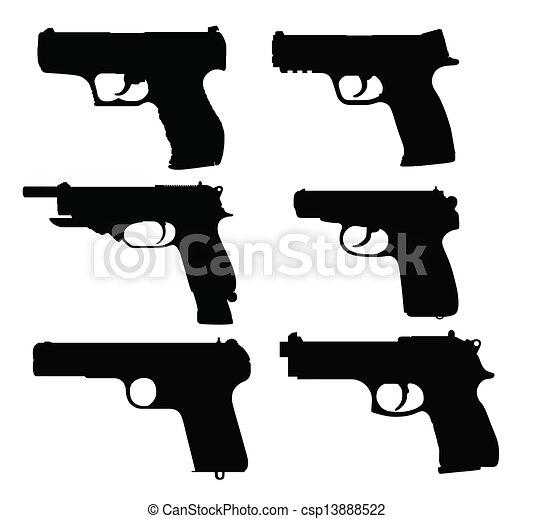 pistolen - csp13888522
