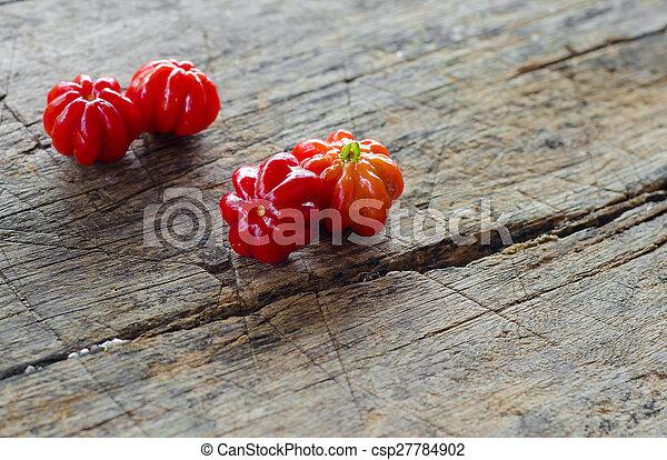 Pitanga. Brazilian cherry. - csp27784902