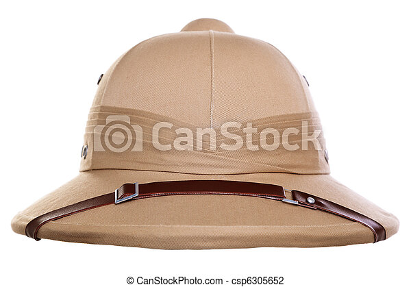 Pith helmet cut out - csp6305652
