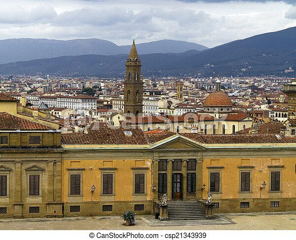 pitti palace - csp21343939