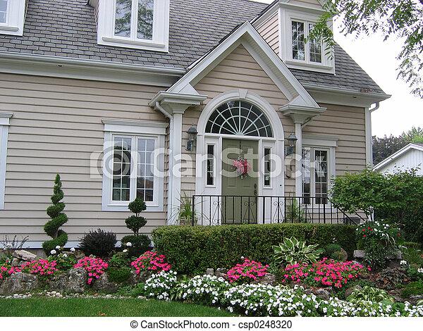 pittoresque, maison - csp0248320
