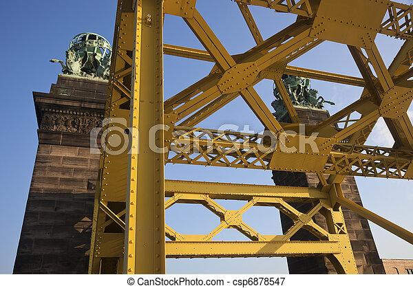 pittsburgh , γέφυρα  - csp6878547