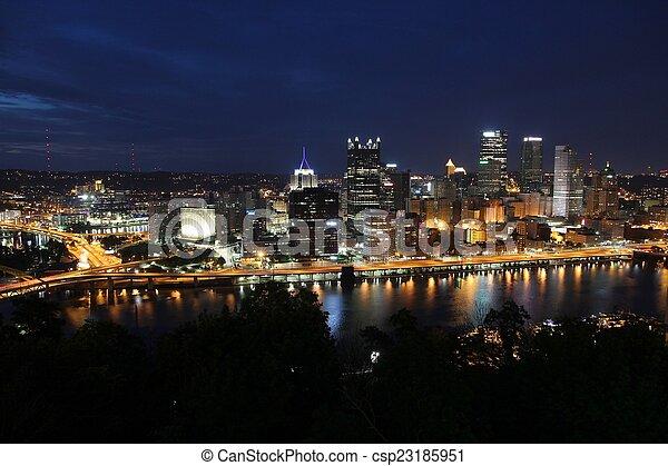 Pittsburgh - csp23185951