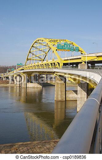 Pittsburgh Bridge - csp0189836