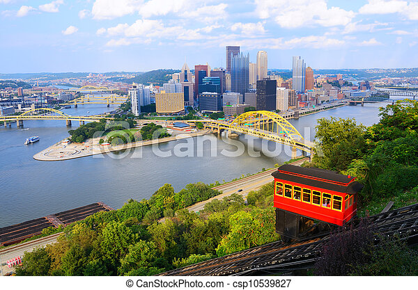 Pittsburgh incline - csp10539827
