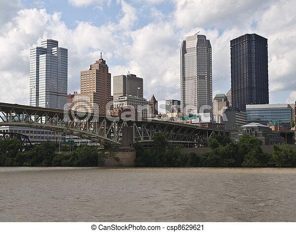 El puerto de Pittsburgh Pensilvania - csp8629621