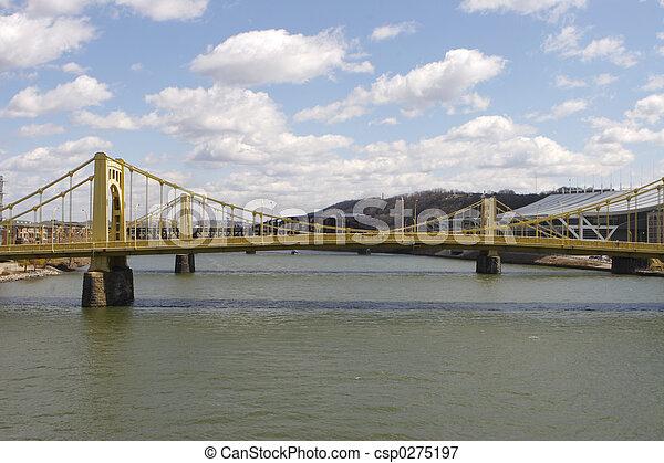 El puente de Pittsburgh - csp0275197