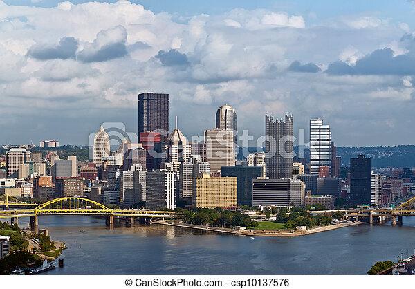 Pittsburgh skyline - csp10137576
