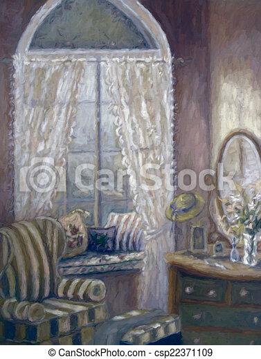 Pittura camera letto digitalmente alterato bambino - Pittura camera letto ...