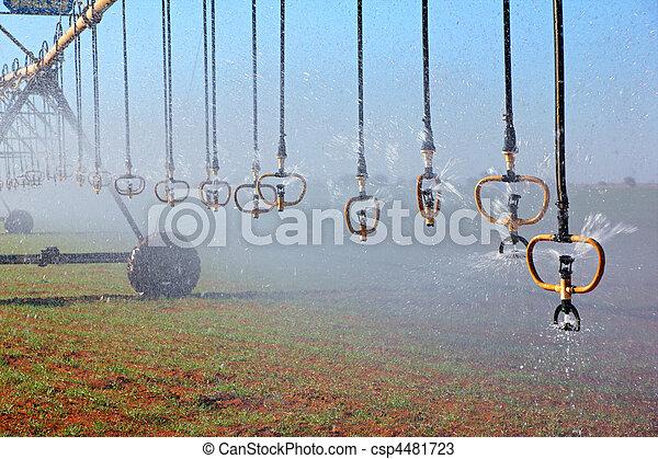 Pivot irrigation - csp4481723