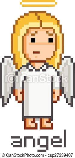 Pixel Girl Angel