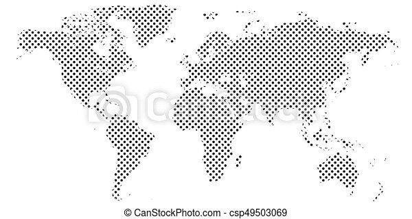 Pixel map of world dotted world map halftone horizontal banner pixel map of world dotted world map halftone horizontal banner csp49503069 gumiabroncs Image collections