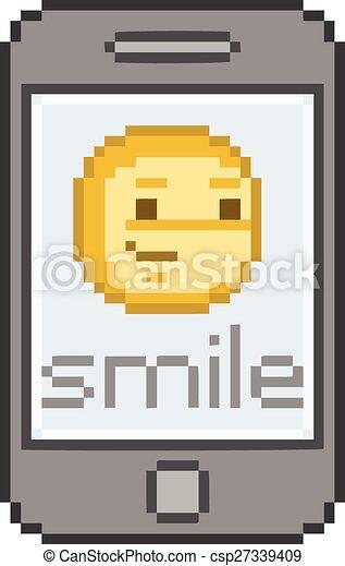Pixel Smiling Smartphone