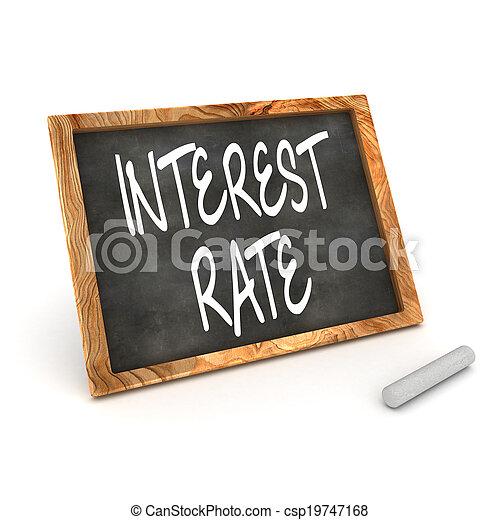 Tabla de interés - csp19747168