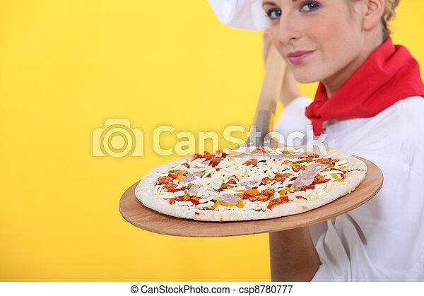 Pizza chef - csp8780777