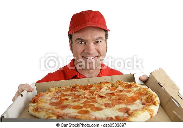 pizza, délicieux, vous - csp0503897