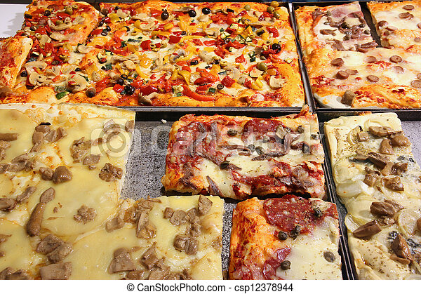 Pizza in Italy - csp12378944