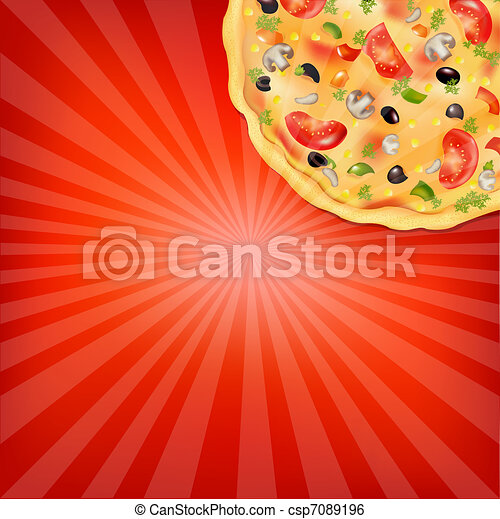 Pizza Poster - csp7089196