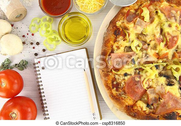 Pizza recipe - csp8316850