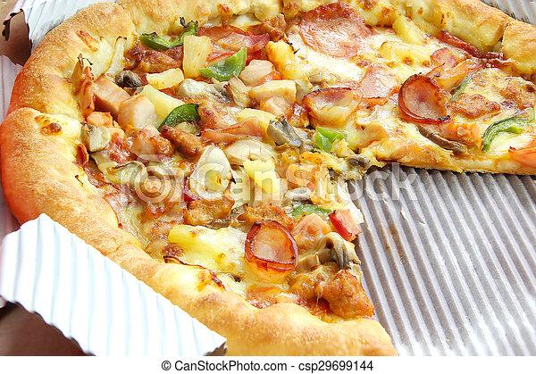 pizza suprema - csp29699144