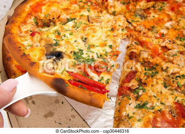 pizza suprema - csp30446316
