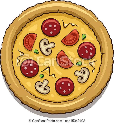 pizza - csp15349492
