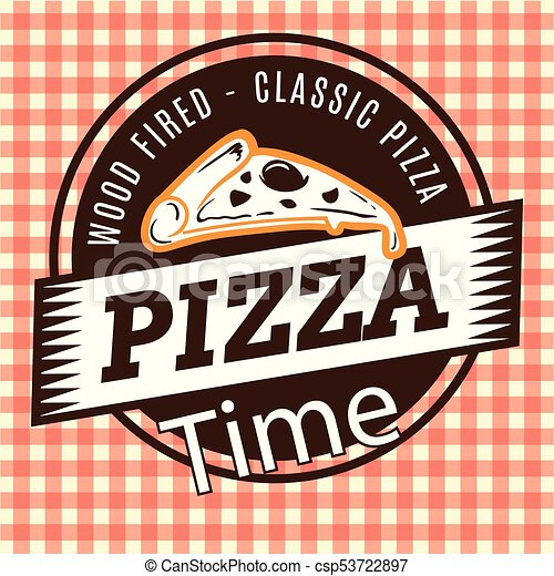 Pizza Time Wood Fired Classic Vector