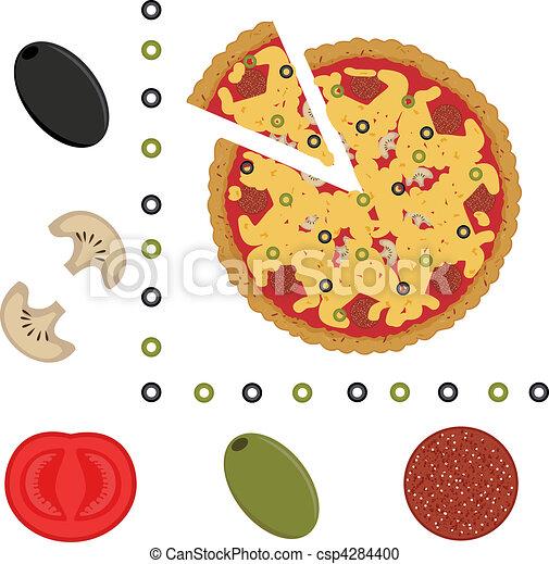 Pizza - csp4284400