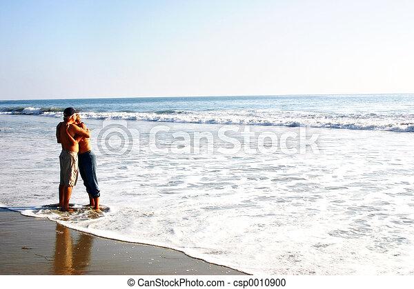 pláž, láska - csp0010900