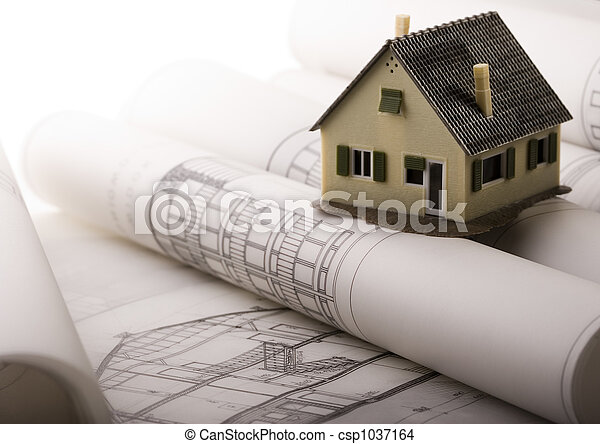 plán, architektura - csp1037164