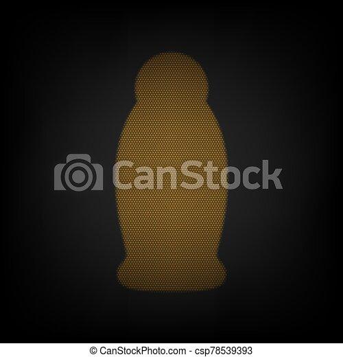 plástico, bomba, bombilla, espuma, gel, líquido, illustration., bottle., soap., pequeño, cuadrícula, dosificador, luz, naranja, darkness., icono - csp78539393
