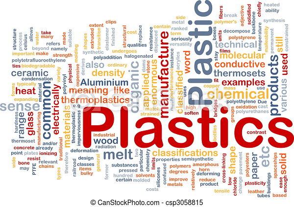 El concepto de fondo material de plástico - csp3058815