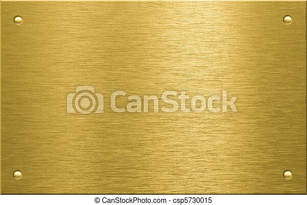 Brass o bronce de metal con cuatro remaches - csp5730015