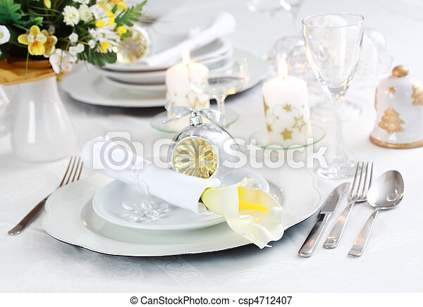 Place setting - csp4712407