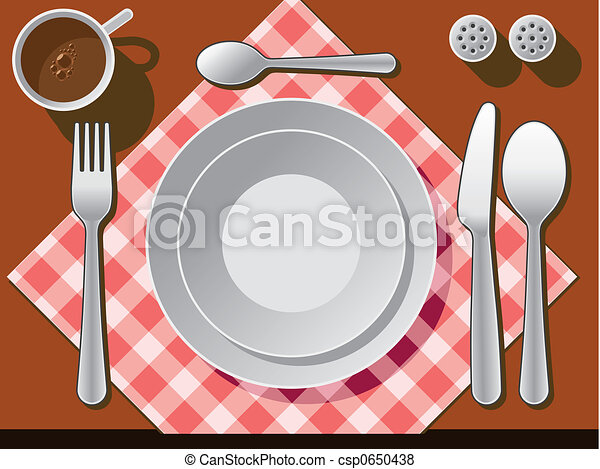 place setting illustrations and clip art 4 553 place setting rh canstockphoto com table setting clipart free Hand Washing Clip Art