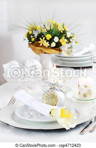 Place setting - csp4712423
