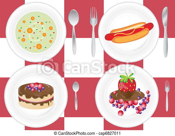 place setting - csp6827011