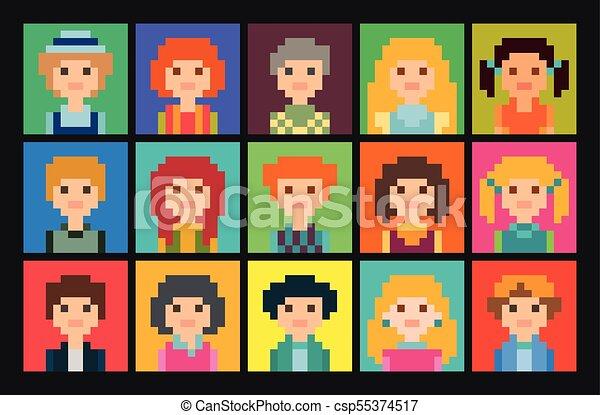 Placer Place Pixel Avatars