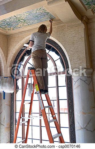plafon, restaurálás - csp0070146